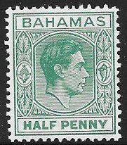Bahamas 100 Unused/Hinged - George VI