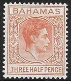 Bahamas 102 Unused/Hinged - George VI