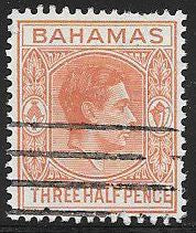 Bahamas 102 Used - George VI