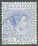 Bahamas 104 Used - George VI
