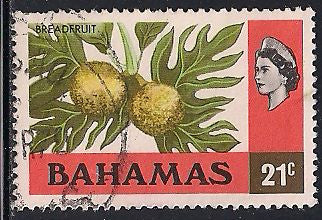 Bahamas 399 Used - Breadfruit