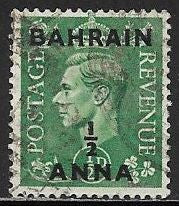 Bahrain 52 Used - George VI