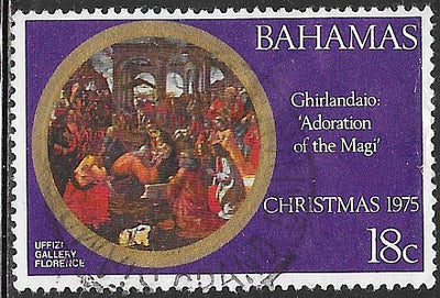 Bahamas 382 Used - Christmas - Adoration of the Kings by Ghirllandalo