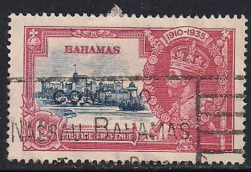 Bahamas 92 Used - Silver Jubilee - George V
