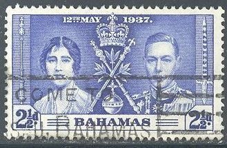 Bahamas 99 Used - Coronation - George VI