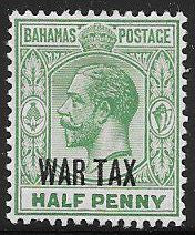 Bahamas MR6 Unused/Hinged - George V