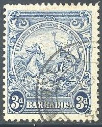Barbados 197A Used - Seal of the Colony
