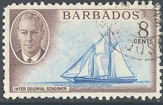 Barbados 221 Used - Schooner - George VI