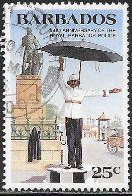 Barbados 670 Used - Royal Barbados Police - Traffic Department