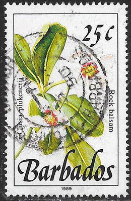Barbados 757 Used - Flower - Rock Balsam - 1989