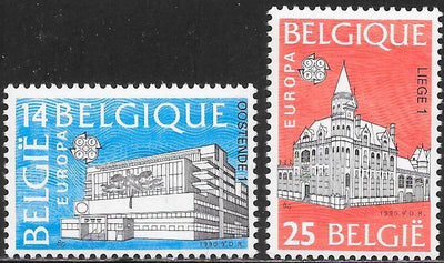 Belgium 1343-1344 MNH - Europa - Post Offices