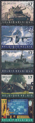 Belgium 1728-1732 Used - Military - NATO 50th Anniversary