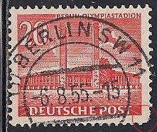 Berlin 9N102 Used - Short Perf - Olympia Stadium - Socked on the Nose