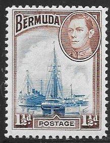 Bermuda 119 Unused/Hinged - Hamilton Harbor - George VI