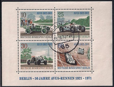 Berlin 9N315 Used - Auto Racing - Socked on the Nose