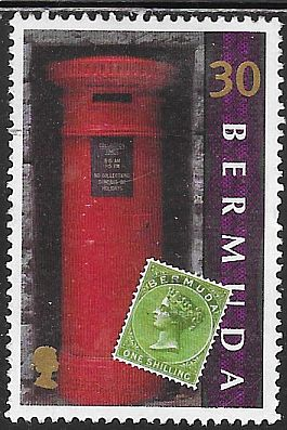Bermuda 783 Used - Mailboxes and Stamps - Victoria Era