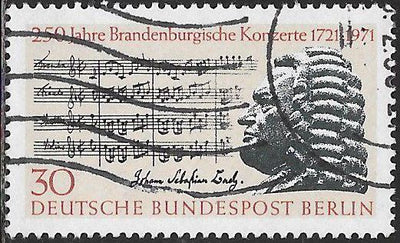 Berlin 9N312 Used - ‭Score from 2nd Brandenburg Concerto & Bach