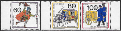 Berlin 9NB272-9NB274 MNH - Postal Workers