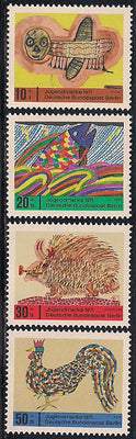 Berlin 9NB79-9NB82 MNH - Childrens Art