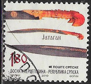Bosnia & Herzegovina (Serb Admin) 396 Used - Old Weapons - Knives