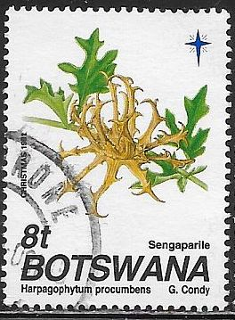 Botswana 502 Used - Christmas - Seed Pods