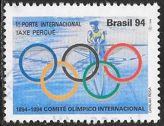 Brazil 2359 Used - ‭International Olympic Committee, Centenary