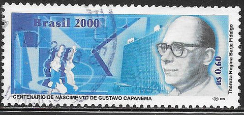 Brazil 2759 Used - Gustavo Capanema - Politician