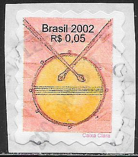 Brazil 2870 Used - Snare Drum - On Paper