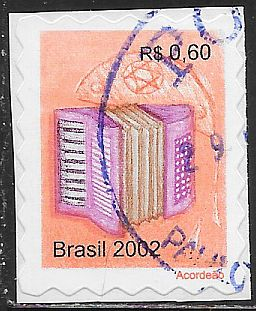 Brazil 2875 Used - Accordion - On Paper
