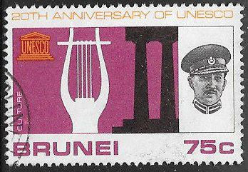 Brunei 130 Used - UNESCO