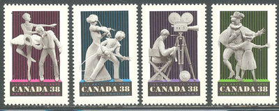 Canada 1252-1255 MNH - Performing Arts