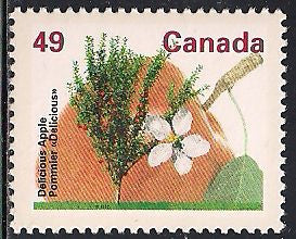 Canada 1364 MNH - Trees - Delicious Apple