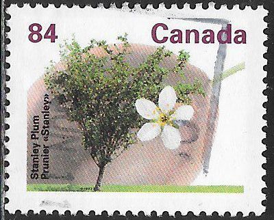 Canada 1371 Used - Trees - Stanley Plum