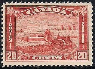 Canada 175 MNH - Harvesting Wheat with Combine