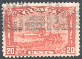 Canada 175 Used - Harvesting Wheat with Combine