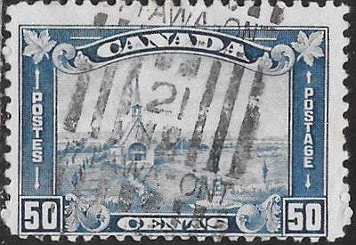 Canada 176 Used - Museum at Grand-Pré, Nova Scotia and Monument to Evangeline