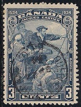 Canada 208 Used - Jacques Cartier - Socked on the Nose