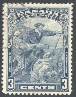 Canada 208 Used - Jacques Cartier