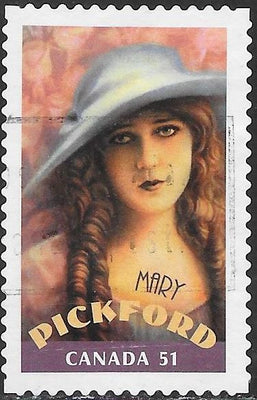 Canada 2154b Used - Canadians in Hollywood - Mary Pickford