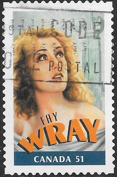 Canada 2154c Used - Canadians in Hollywood - Fay Wray