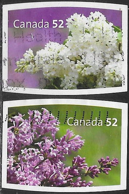Canada 2207-2208 MNH - Flowers - Lilacs