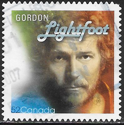 Canada 2222a Used - Popular Singers - Gordon Lightfoot