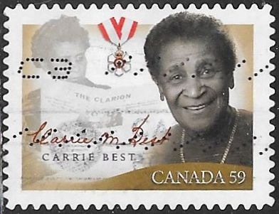Canada 2433 Used - ‭Black History Month - Carrie Best (1903-2001), Journalist