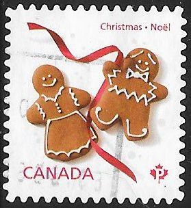 Canada 2583 Used - Christmas - Gingerbread Cookies