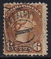 Canada 39d Used - Brown - Victoria