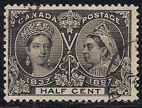 Canada 50 Used - Victoria Jubilee