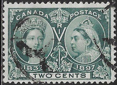Canada 52 Used - Victoria Jubilee