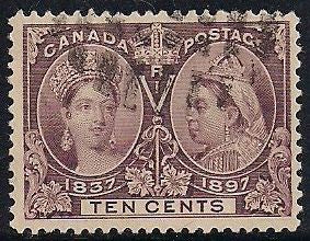 Canada 57 Used - Victoria Jubilee