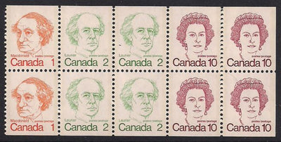 Canada 586c MNH - Booklet Pane