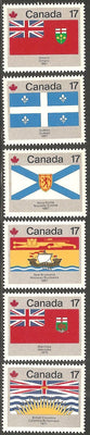 Canada 821-832 MNH - Canada Day - Flags